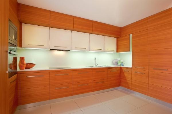 cucina legno larice stile moderno