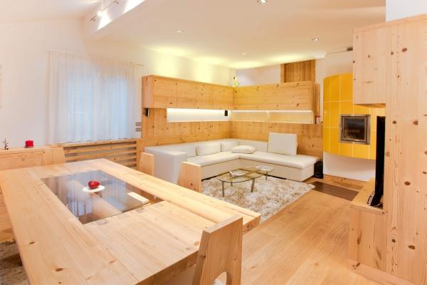 living legno naturale stile moderno