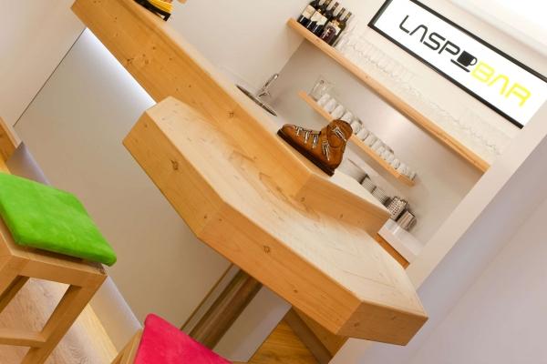 bancone bar legno naturale
